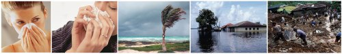 Cambio climático afectará salud, provocará  huracanes, inundaciones y deslizamiento de tierra