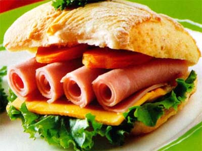 sandwich de jamón