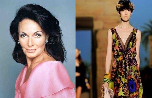 Diane Von Furstenberg y su estilo Egipcio