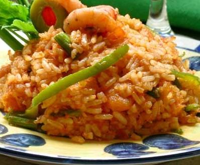 Cocina dominicana locrio de camarones for Cocina dominicana